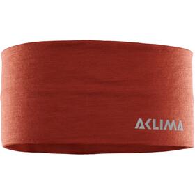 Aclima LightWool Headband red ochre